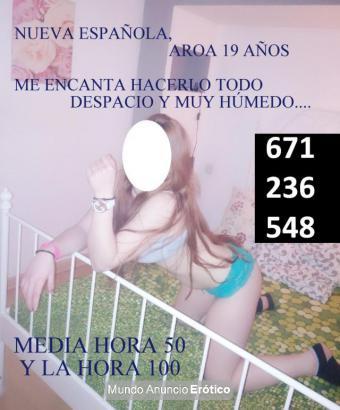 Fotos de AROA, ESTUDIANTE ESPAÑOLA DE 19 AÑOS.