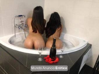 Fotos de Lésbico real con Sara & Nataly auntenticas diosas del placer